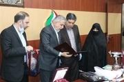 اهدای یادبودهای ورزشی شهید رضایی مجد به موزه ملی ورزش