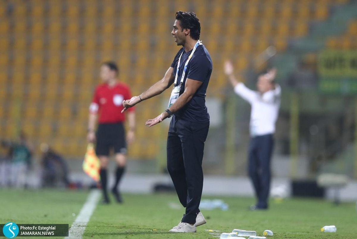 مصاحبه گل و بلبل مجیدی با سایت باشگاه استقلال؛ همه چیز خوب است!