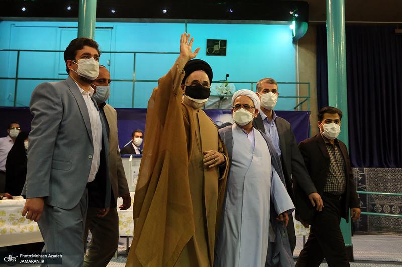 انتخابات 1400 در حسینیه جماران - 2 - سید محمد خاتمی