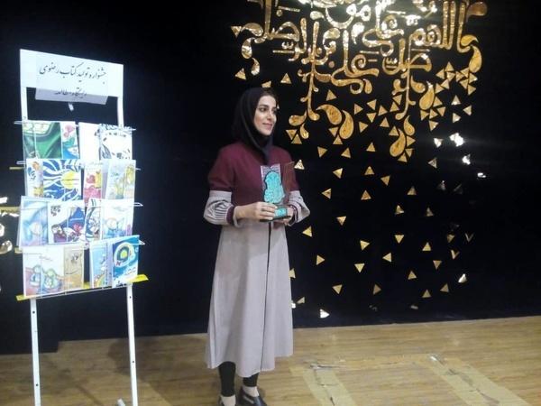 داستان بغض شیرین هنرمند بندر امامی، رتبه دوم جشنواره بین المللی رضوی را کسب کرد