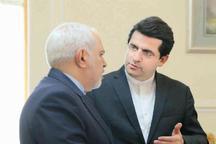 واکنش سخنگوی وزارت امور خارجه به یک ادعا در مورد ظریف