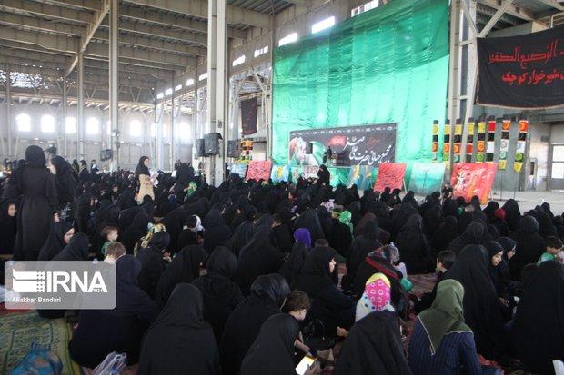 تجلی دلدادگی سمنانیها در سوگ علمدار نینوا