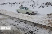امدادرسانی به مناطق در محاصره برف خوزستان