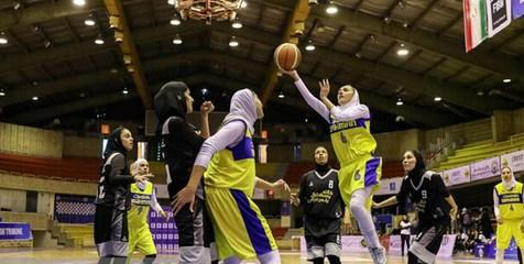 تیم های راه یاقته به مرحله نیمه نهایی لیگ بسکتبال زنان مشخص شدند