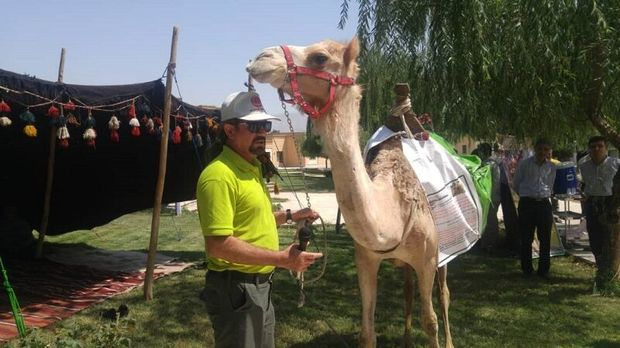 آئین بدرقه جهانگرد ایرانی در قزوین برگزار شد