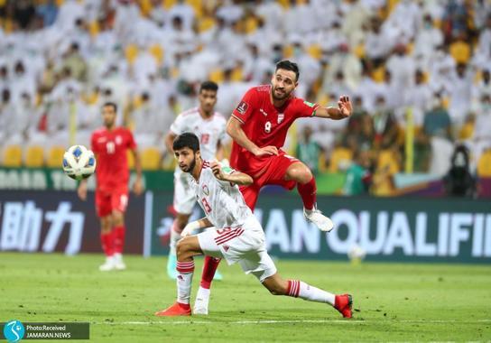 احمد نوراللهی تیم ملی فوتبال ایران امارات