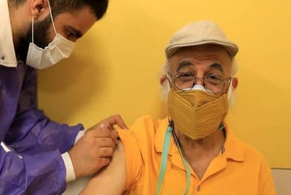 فریدون جیرانی و چند هنرمند سرشناس واکسینه شدند+عکس
