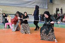 رقابتهای بازیهای بومی و محلی بانوان در زابل برگزار شد