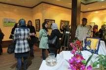 گشایش نمایشگاه نقاشی گروهی بانوان در لاهیجان