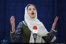 دکلمه دختر نوجوان کلیمی به مناسبت سی و دومین سالگرد بزرگداشت امام خمینی+فیلم