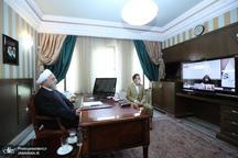 تشکر رییس جمهور از تولیت آستان قدس رضوی و علما/ کاهش آمار حضور مردم در مشهد بیانگر همکاری و عمل آنها به توصیههای بهداشتی است
