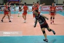 تیم والیبال شهرداری ارومیه مقابل سایپا تهران به برتری رسید