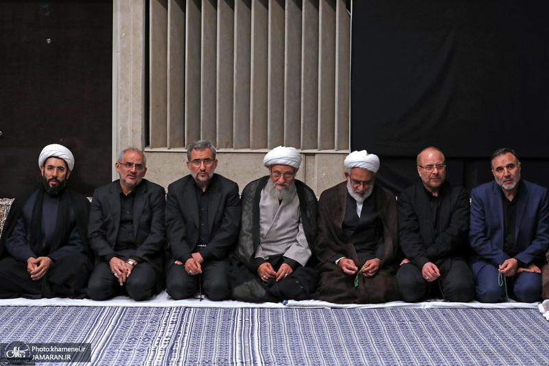 عزاداری شب عاشورای حسینی (ع) در حسینیه امام خمینی(ره)