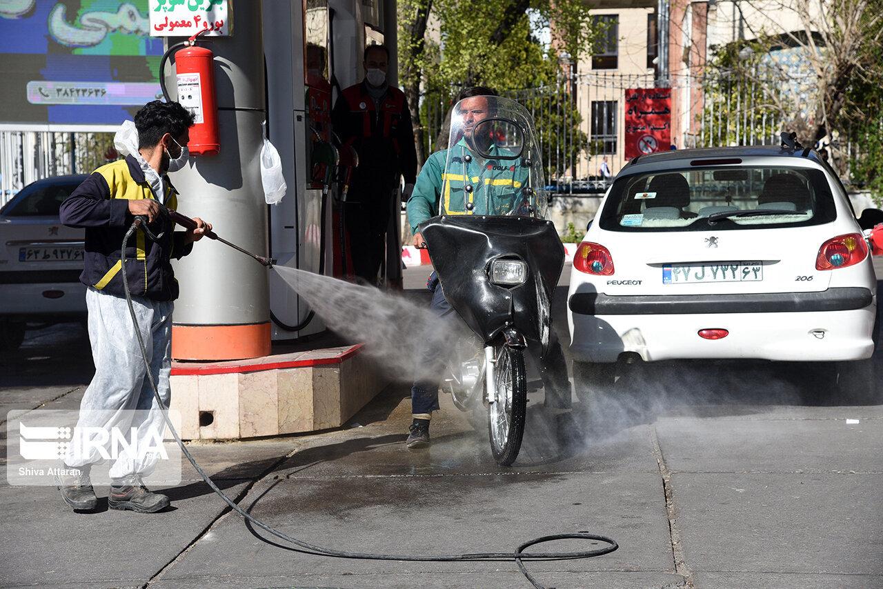 رد شایعه بنزینی که هدفش گسترش کرونا در فارس است