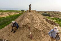 آثاری از معماری در تپه «آناقیزلی» چایپاره کشف شد
