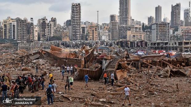 تسلیت رهبر معظم انقلاب در پی فاجعه دردناک بندر بیروت
