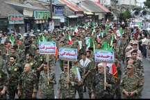 مردم قهرمان ایران همچنان از انقلاب حمایت می کنند