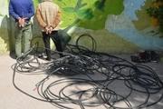دستگیری سارقان کابلهای فشارقوی با ۲۲ فقره سرقت در اهواز