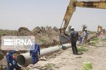 اجرای شبکه فاضلاب در تعدای از روستاهای خوزستان آغاز شد