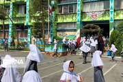 مدارس میزبان شعب رای در خراسان شمالی ضدعفونی شد