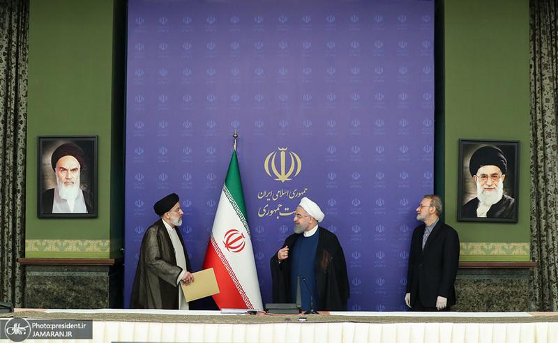 آخرین حضور لاریجانی به عنوان رئیس مجلس در شورای عالی هماهنگی اقتصادی