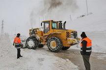 بارش برف راه 600 روستای آذربایجان شرقی را بست