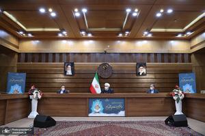 آئین تکریم از خادمان قرآن کریم با حضور رئیس جمهوری