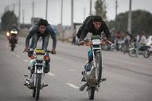 موتورسیکلت سواران قانون شکن معضل خیابانهای گناباد