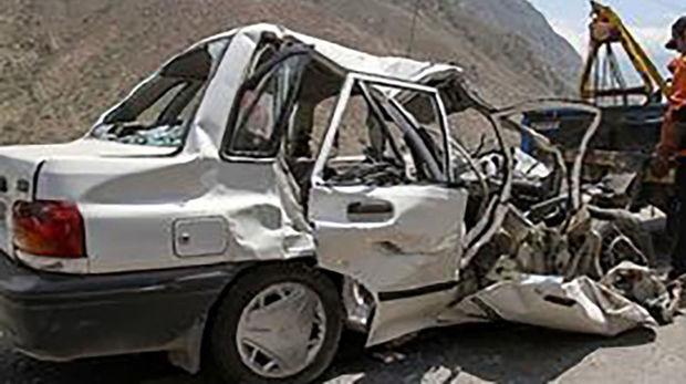 افزایش 60 درصدی تصادف منجر به فوت در جاده های مازندران