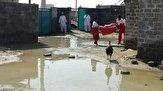 11 روستای درگیر سیلاب در سیستان و بلوچستان  امدادرسانی به 34 خانوار و توزیع اقلام مورد نیاز