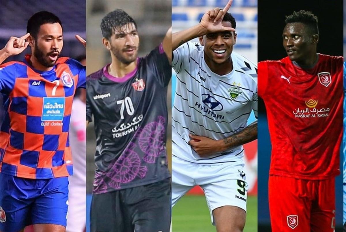 مغانلو دومین مهاجم برتر لیگ قهرمانان آسیا ۲۰۲۱ شد+ عکس