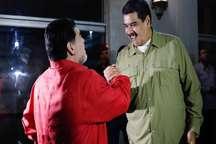 رئیس جمهور ونزوئلا با مارادونا فوتبال بازی کرد+ تصاویر