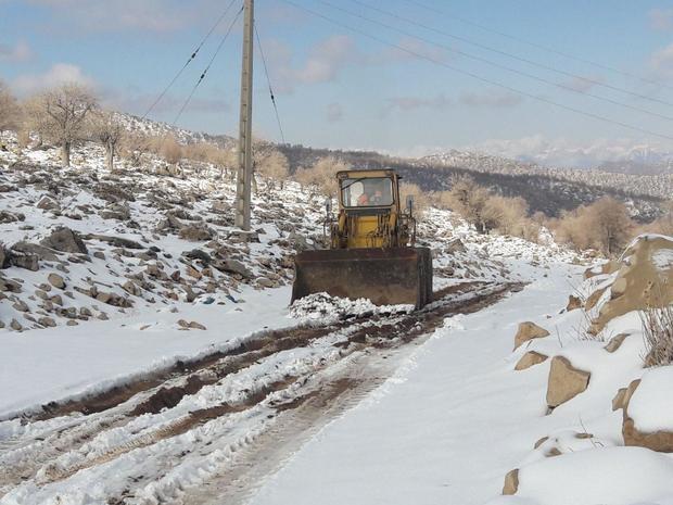 جاده دسترسی به احمدفداله و دره کاید دزفول بازگشایی شد