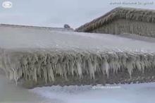 خانه های یخ زده!
