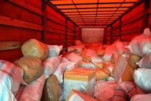 3.5 میلیارد ریال پارچه قاچاق در سنندج کشف شد