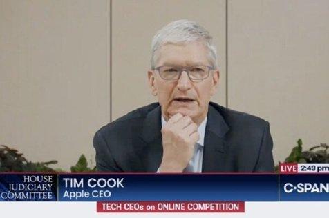 جلسه دفاعیات مدیران اپل و گوگل در کنگره آمریکا