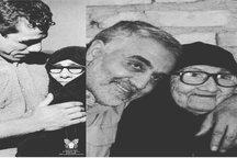 مقایسه عکس تختی و مادرش با شهید سردار سلیمانی و مادرش