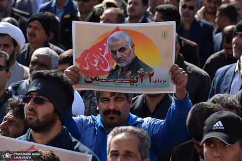 حضور موتورسواران، دوچرخه سواران و اسکیت بازان در راهپیمایی 22 بهمن