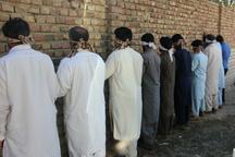 39 سارق حرفه ای در ایام نوروز در ایرانشهر دستگیر شدند