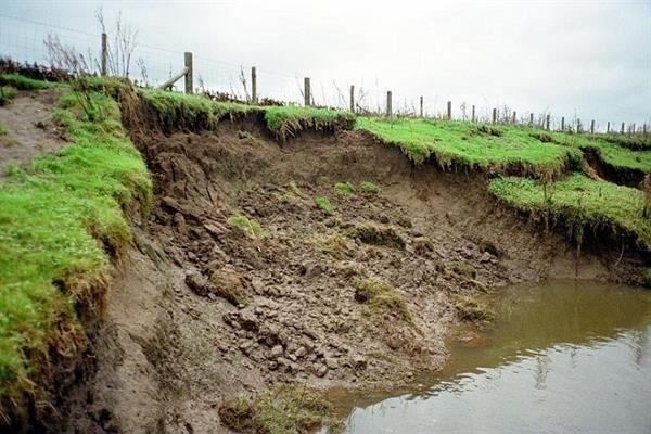 سالانه ۲.۵ میلیارد تن فرسایش خاک در کشور اتفاق می افتد