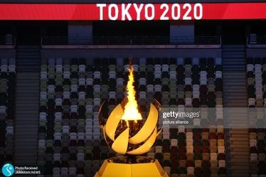 مراسم افتتاحیه المپیک 2020 توکیو  خوشحالی جالب آرژانتینی ها در رژه و دعوای پرچمداران اروگوئه/ مشعل بازی ها روشن شد + عکس و ویدیو
