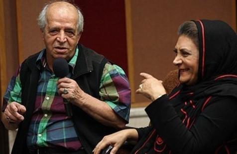 مهوش وقاری بر سرمزار همسرش در چهلمین روز درگذشت قاضی مرادی + عکس
