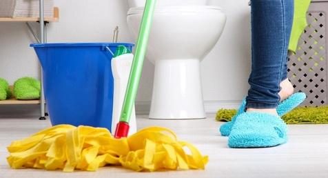 این گونه حمام را تمیز کنید
