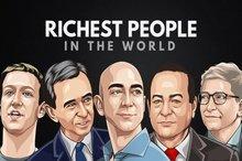 ثروتمندترین افراد آمریکا طی دهه اخیر از سوی مجله فوربس
