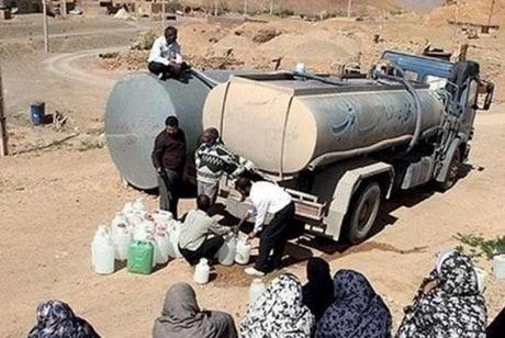 وضعیت به شدت بحرانی آب شرب اصفهان