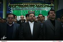تجدید میثاق وزیر و معاونان وزارت امور اقتصاد و دارایی با آرمان های بنیانگذار انقلاب اسلامی ایران