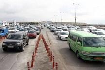 ترافیک در آزاد راه های قزوین نیمه سنگین است