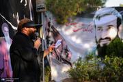 عزاداری تاسوعای حسینی(ع) هیات گردان تخریب با نوای حاج علی رحیمی