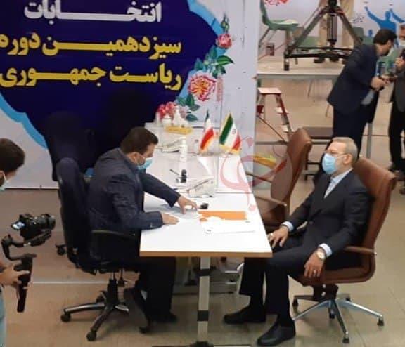 ثبت نام علی لاریجانی برای انتخابات سیزدهمین دوره ریاست جمهوری