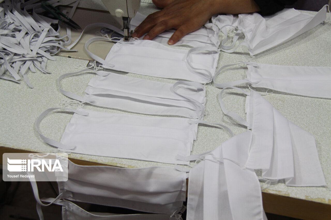 هشت هزار و ۷۰۰ عدد ماسک غیرقانونی در شیروان کشف شد